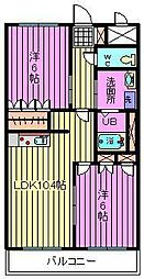 埼玉県さいたま市見沼区丸ケ崎町の賃貸マンションの間取り