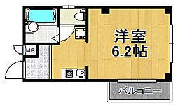 プライムコート泉尾[2階]の間取り