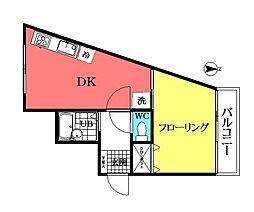 グレース壱番館[2階]の間取り