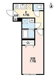エナ・クオーレ[3階]の間取り