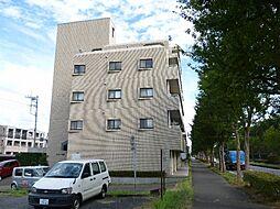 茨城県つくば市花畑3丁目の賃貸マンションの外観