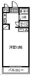EPCOT・1[402号室]の間取り
