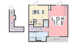 播磨町駅 5.3万円
