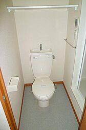 レオパレスパストラルのトイレ