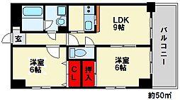 メゾンド・ファミーユ[305号室]の間取り