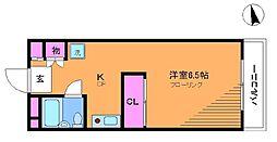 メゾンプチフォーレ[2階]の間取り