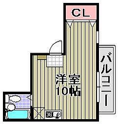 HIRANO[301号室]の間取り
