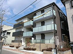 京都府京都市山科区音羽初田町の賃貸アパートの外観