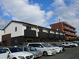 大阪府豊中市利倉2丁目の賃貸アパートの外観