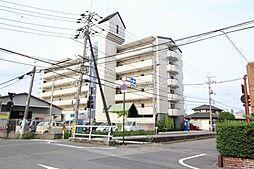 岡山県岡山市北区西島田町の賃貸マンションの外観