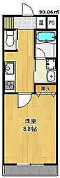 オープンヒルズ[3階]の間取り