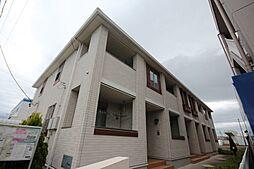 愛知県名古屋市中川区服部1丁目の賃貸アパートの外観