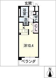 GRAN DUKEII[2階]の間取り