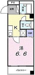 ジャンレジダンスM[3階]の間取り