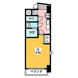 コモレビスクエア大須[4階]の間取り