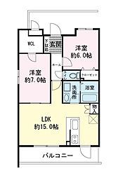 (仮)青島マンション[0302号室]の間取り