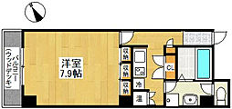 レオンK[8階]の間取り