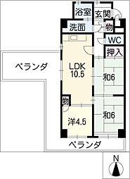 ステーションビルASATOKU[3階]の間取り