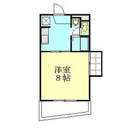 岡山二の丸ビル[202号室]の間取り