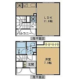 サンステージ御器所(サンステージゴキソ)[2階]の間取り