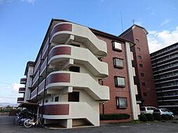 奈良県生駒郡安堵町大字東安堵の賃貸マンションの外観