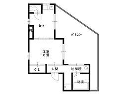 上汐楓マンション[5階]の間取り
