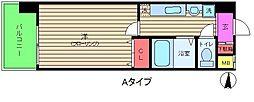 新梅田プライム[8階]の間取り