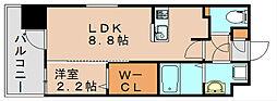 グランフォーレ箱崎プレミア[12階]の間取り