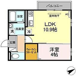 (仮)D-room山本3丁目[301号室]の間取り