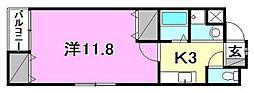 コンフォート22[203 号室号室]の間取り