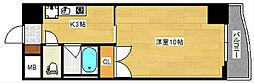 広島県広島市南区段原2丁目の賃貸マンションの間取り