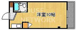 京都参番館[105号室号室]の間取り
