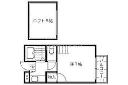 アトレ堺町[203号室号室]の間取り