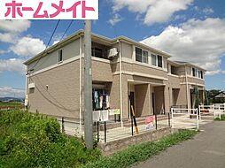 三重県松阪市市場庄町の賃貸アパートの外観