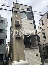 東京都葛飾区立石4丁目の賃貸アパートの外観
