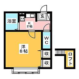 愛知御津駅 3.4万円