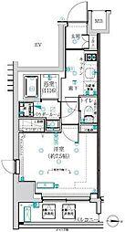東京メトロ丸ノ内線 四谷三丁目駅 徒歩2分の賃貸マンション 6階1Kの間取り