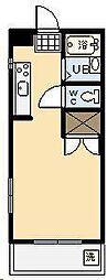 オクトワール宮崎西1番館[210号室]の間取り