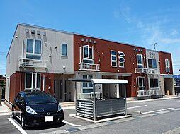 富山県富山市山室荒屋新町の賃貸アパートの外観