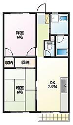 カシヤ第2ビル[3階]の間取り