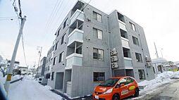 北海道札幌市西区発寒二条5の賃貸マンションの外観