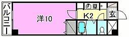 ベルメゾン福音寺[303 号室号室]の間取り