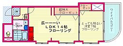 都営三田線 西巣鴨駅 徒歩3分の賃貸マンション 6階1LDKの間取り