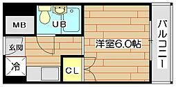 エスアイマンション[5階]の間取り