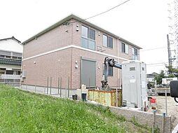 愛知県岩倉市大山寺町神田の賃貸アパートの外観