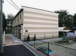 東京都府中市分梅町5丁目の賃貸アパートの外観