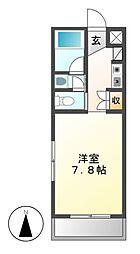 グランドシャトーK1[3階]の間取り