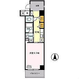 ボナール江坂[301号室]の間取り