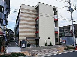 東京都足立区江北1丁目の賃貸アパートの外観