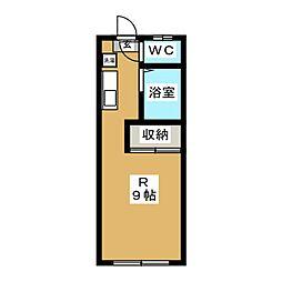 ホワイトキャッスル5番館[2階]の間取り